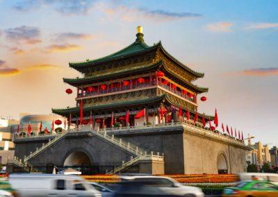 Bell Tower, Ancient City Xian