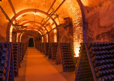 Cellar in Heart of Champagne Country, Reims