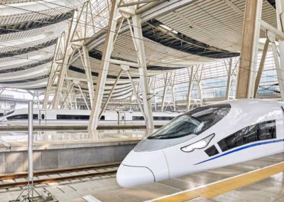 Over Two Thousand High Speed Trains Service Today's China