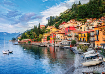 Picture Postcard Towns Dot Bucolic Lake Como in Northern Italy