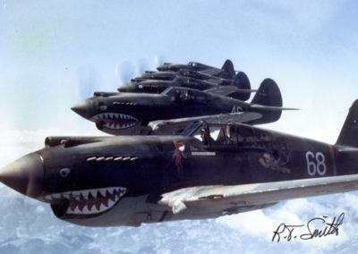 American P-40 Warhawks