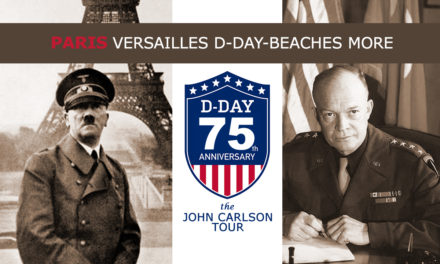 THE D DAY BEACHES on JUNE 6th / THE  BULLET TRAIN / THE BATTLE OF THE  BULGE / CHAMPAGNE COUNTRY / THE NAZI SURRENDER AT REIMS / VERSAILLES / PARIS ……. optional  one week extension to PROVENCE+