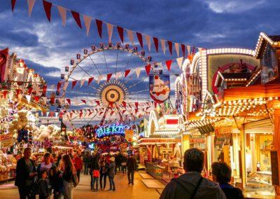 German Fair near Nuremberg