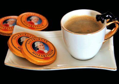 Coffee as served in Salzburg