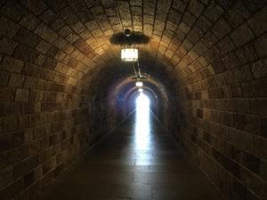 "Tunnel to Hitler's Summer ""Eagle's Nest"""
