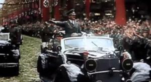 Hitler mobile rally