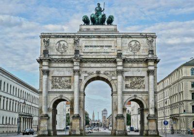 Siegestor Gate, Munich
